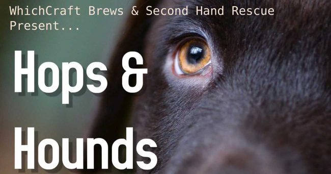 Hops & Hounds at WhichCraft Brews