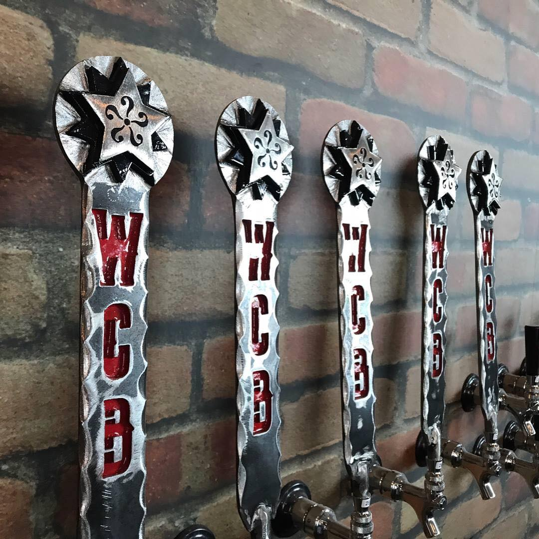 WhichCraft Brews' Tap Handles