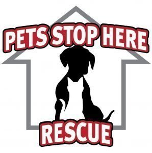 Pets Stop Here Rescue, Inc. Logo