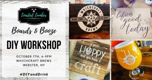 DIY and Drinks with Loaded Lumber at WhichCraft Brews
