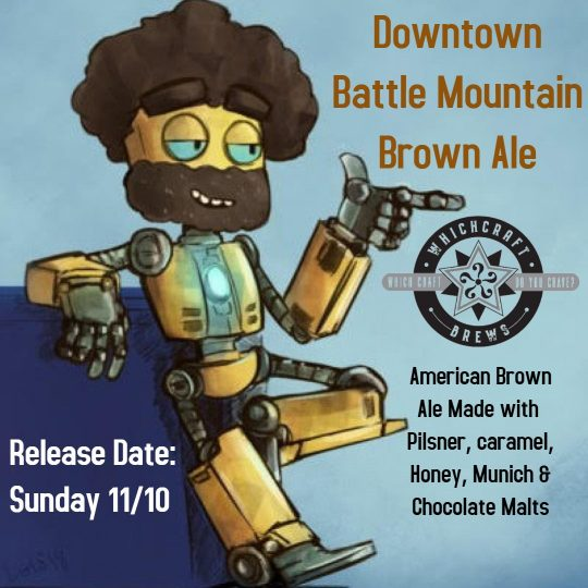 Downtown Battle Mountain Beer Release