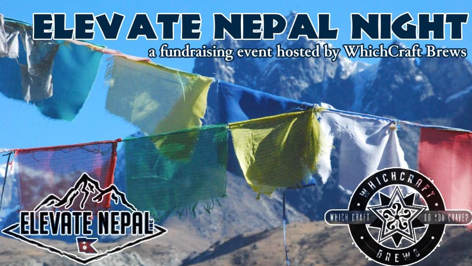 Elevate Nepal Fundraiser at WhichCraft Brews