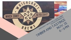 Loaded Lumber Timber and Tastings at WhichCraft Brews