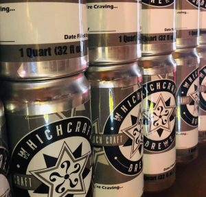 WhichCraft Brews Crowlers