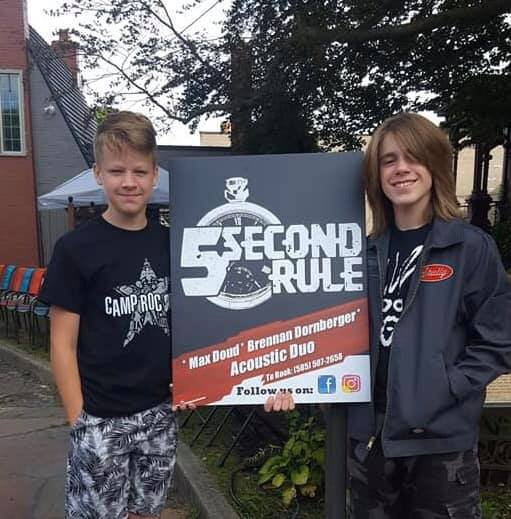 5 Second Rule Band